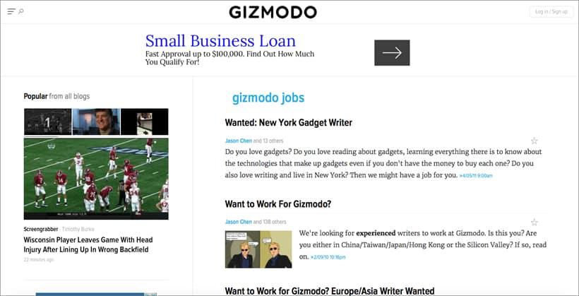 gizmodo-freelance-jobs